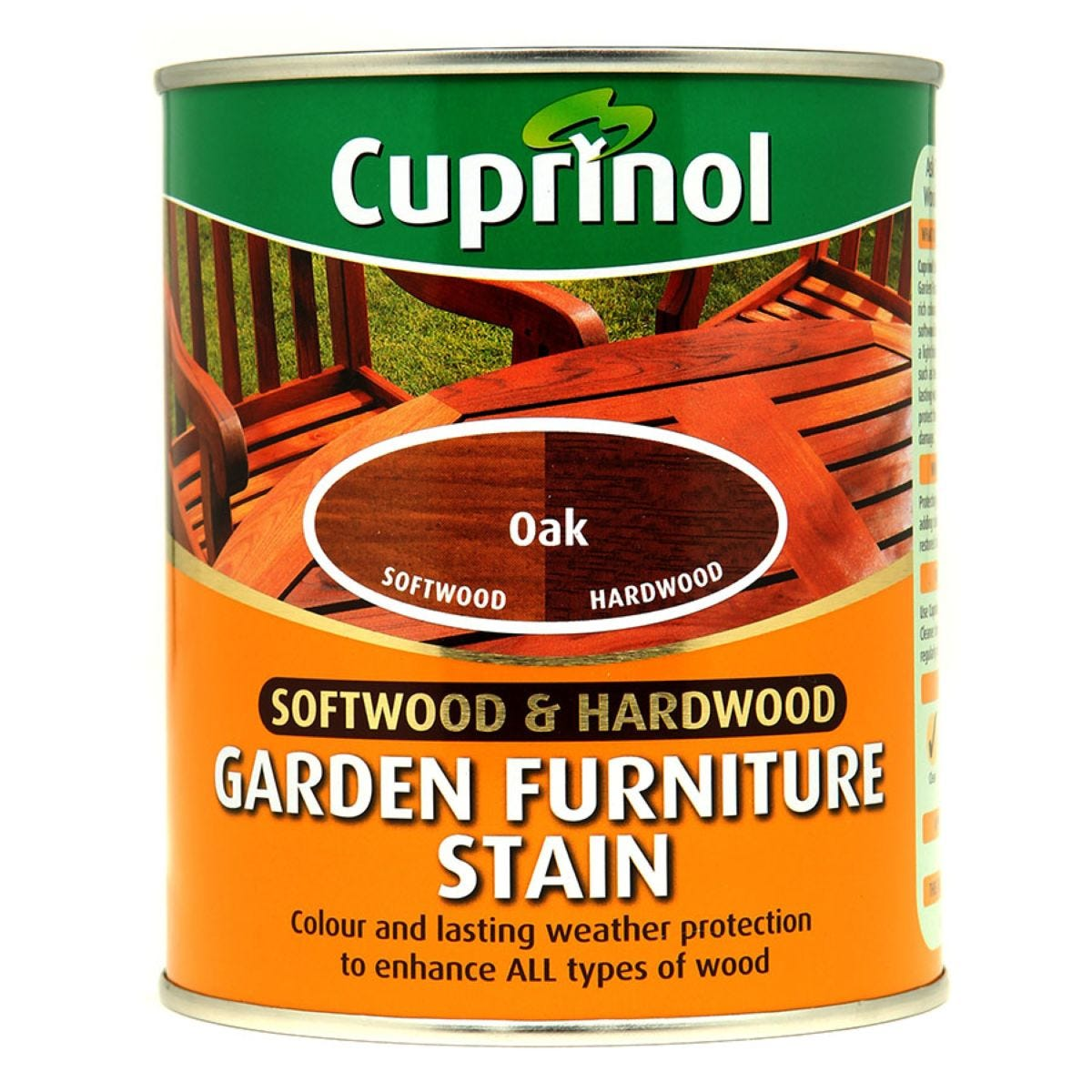 Cuprinol 750ml Garden Furniture Stain – Oak