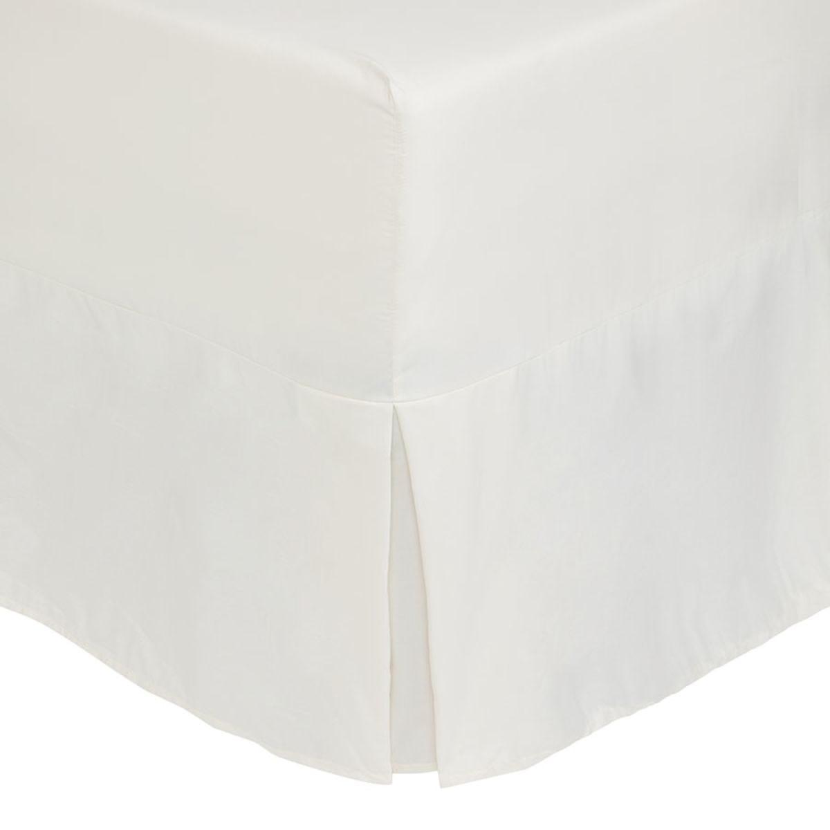 Catherine Lansfield Non-Iron Fitted Valance Sheet - Cream