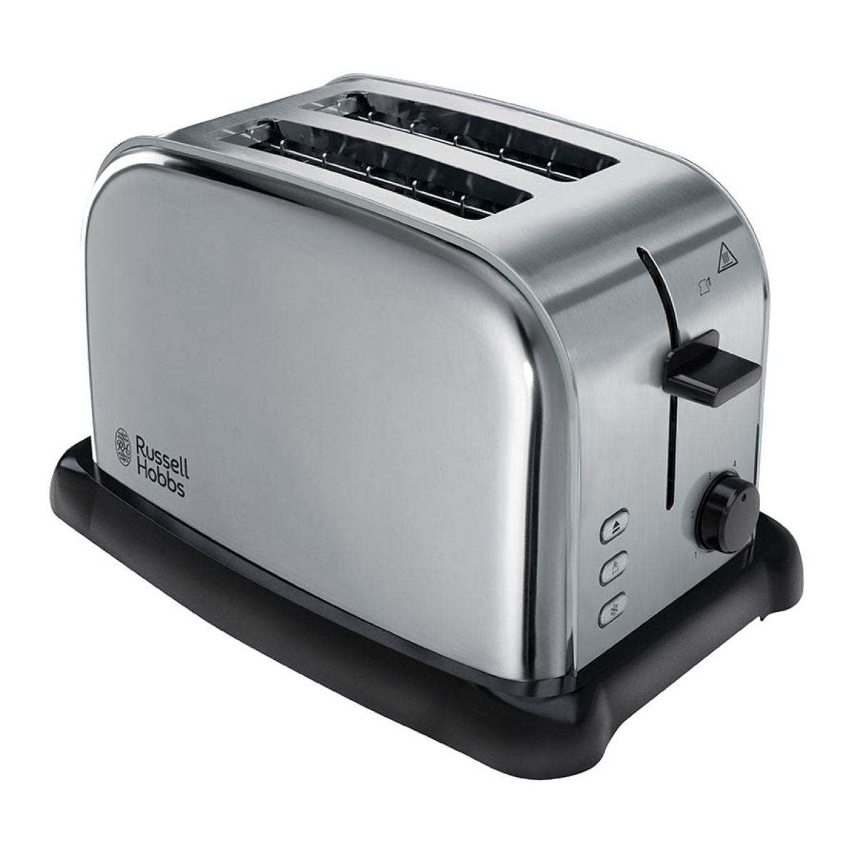 Russell Hobbs Wide-Slot 2-Slice Toaster - Brushed Stainless Steel