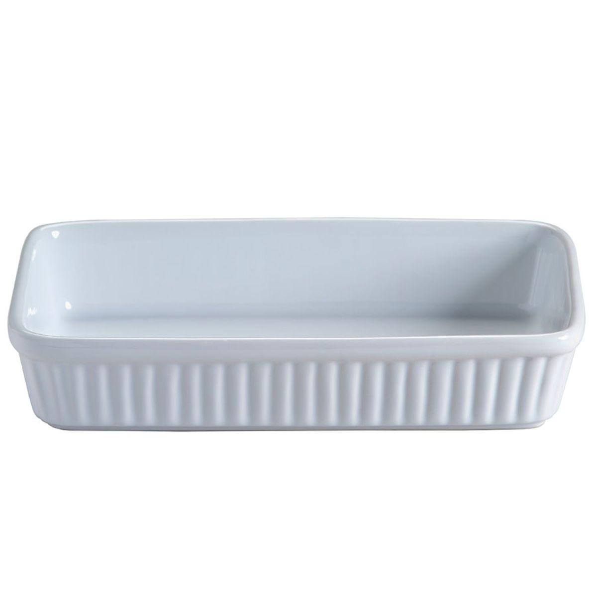 Mason Cash Classic Collection 23cm Rectangular Baking Dish – White