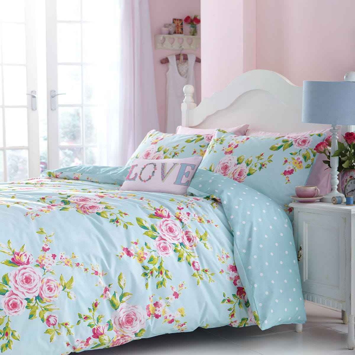 Catherine Lansfield Canterbury Duvet Set - Patterned
