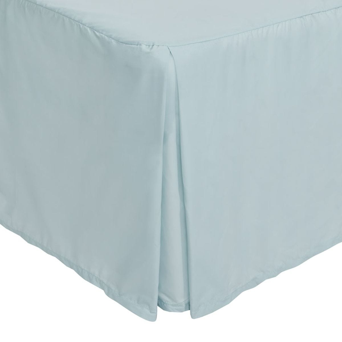 Catherine Lansfield Non-Iron Platform Valance Sheet - Duck Egg