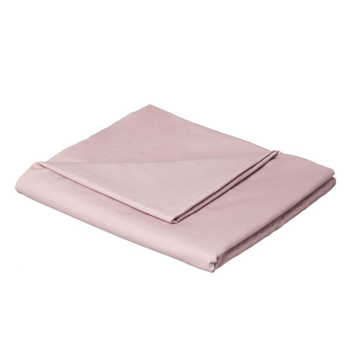Catherine Lansfield Non-Iron Plain Dye Flat Sheet - Heather