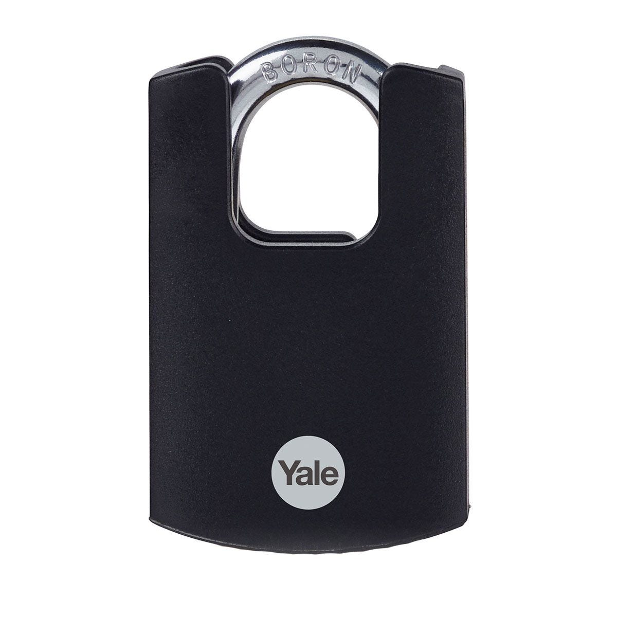 Yale Brass Padlock Closed Shackle 40mm