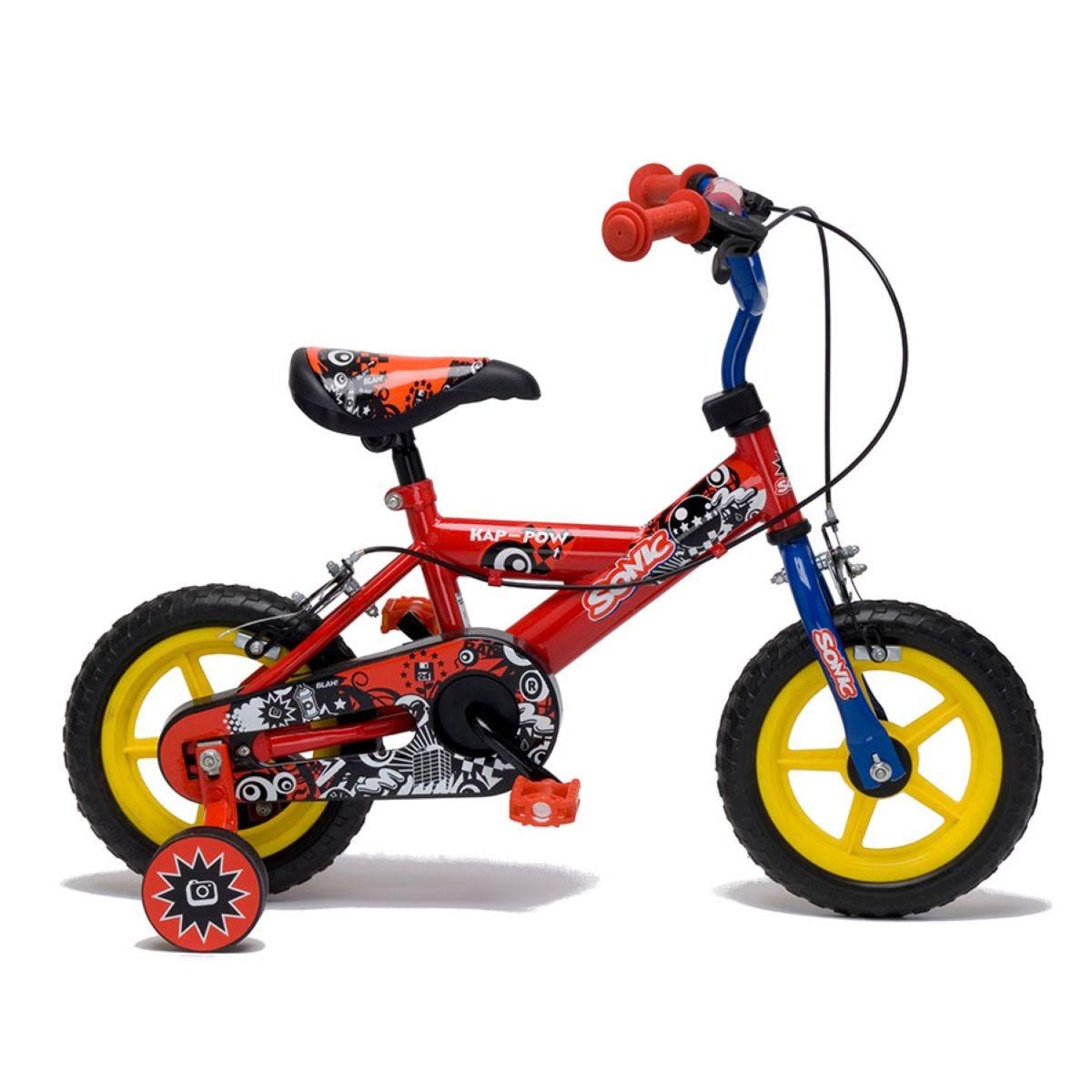 Sonic Kap-Pow Bike 12-Inch – Red/Blue