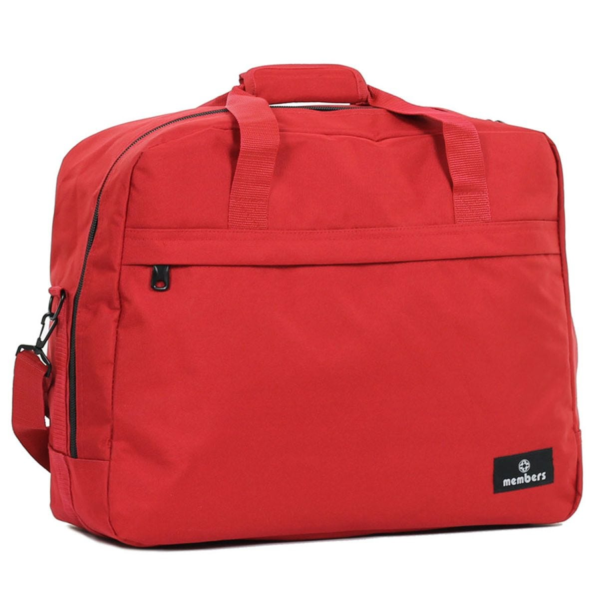 Members by Rock Luggage Essential Carry-On Travel Bag - Red