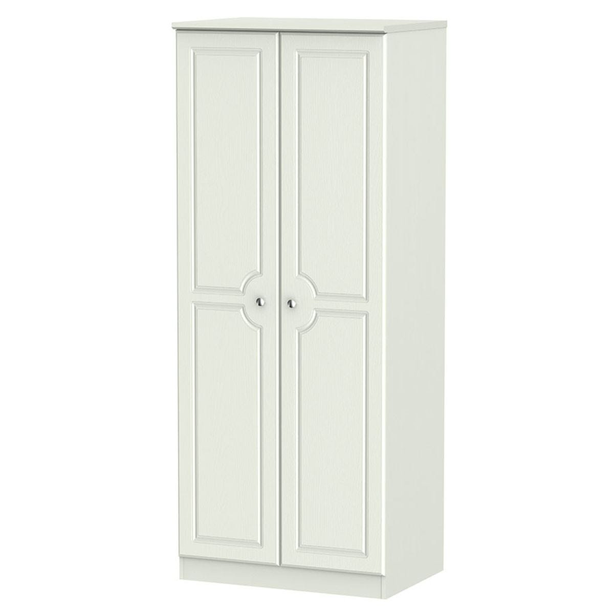 Montego 2-Door Wardrobe - Ash Grey