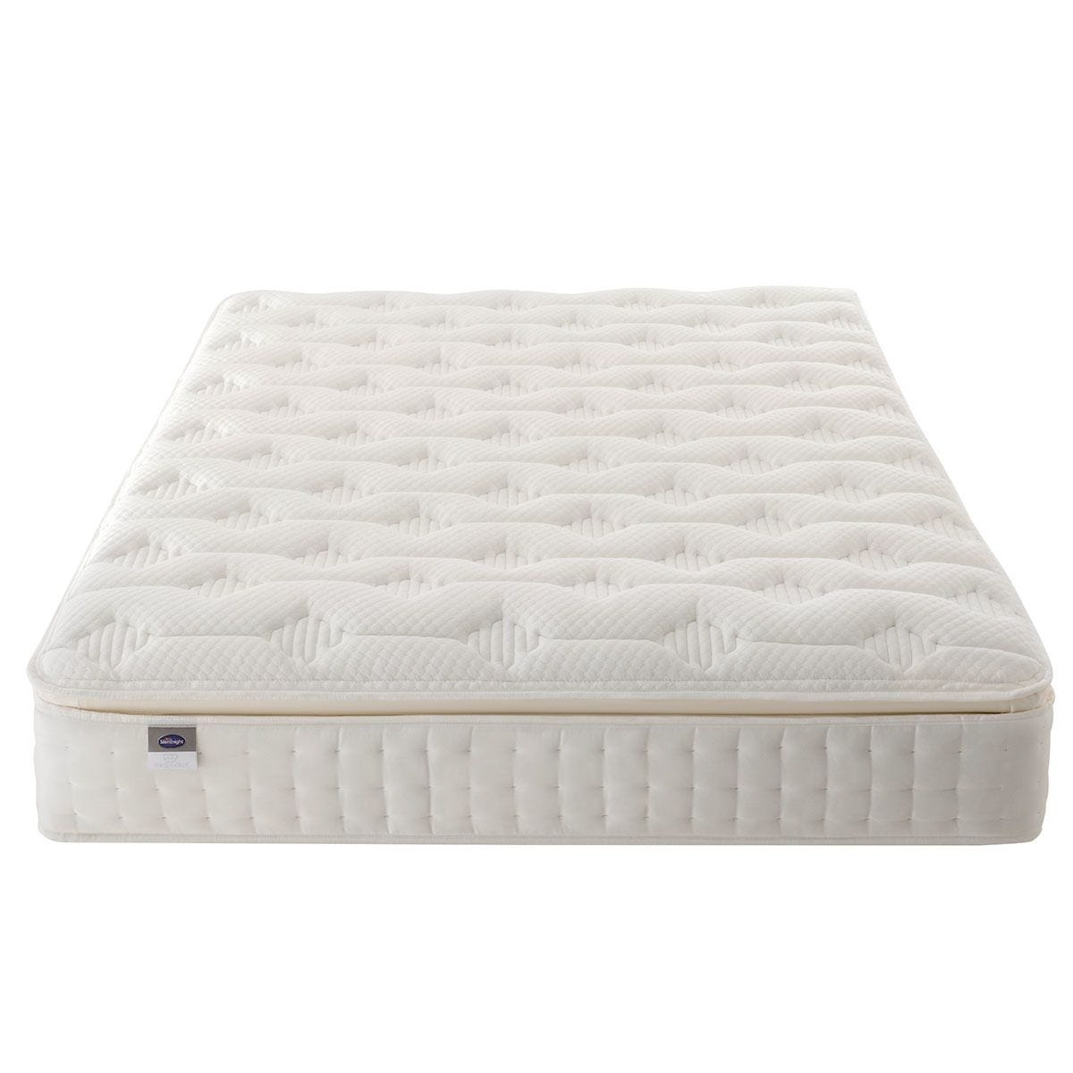 Silentnight Mirapocket Latex 1000 Mattress - White Super King