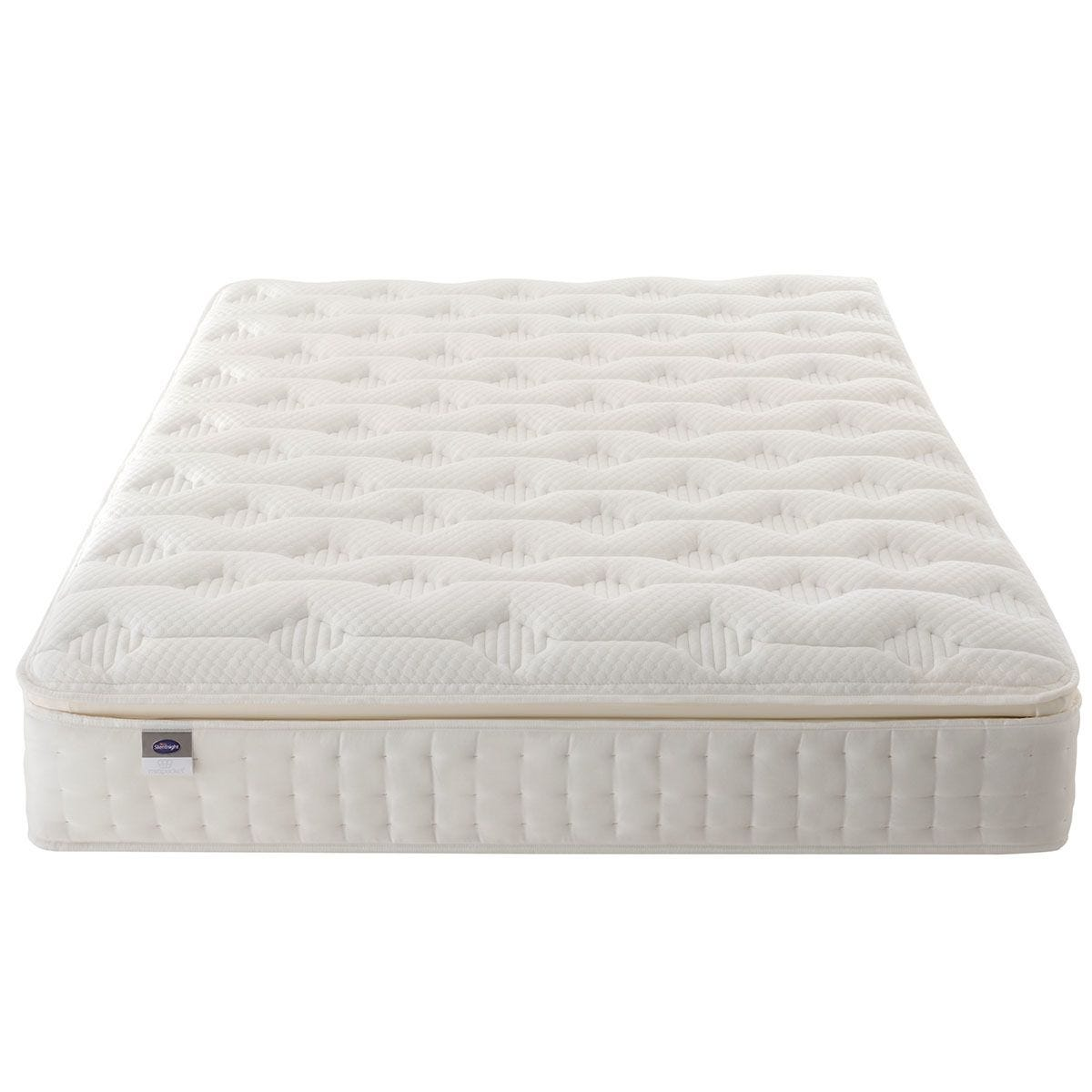 Silentnight Mirapocket Latex 1000 Mattress - White Double