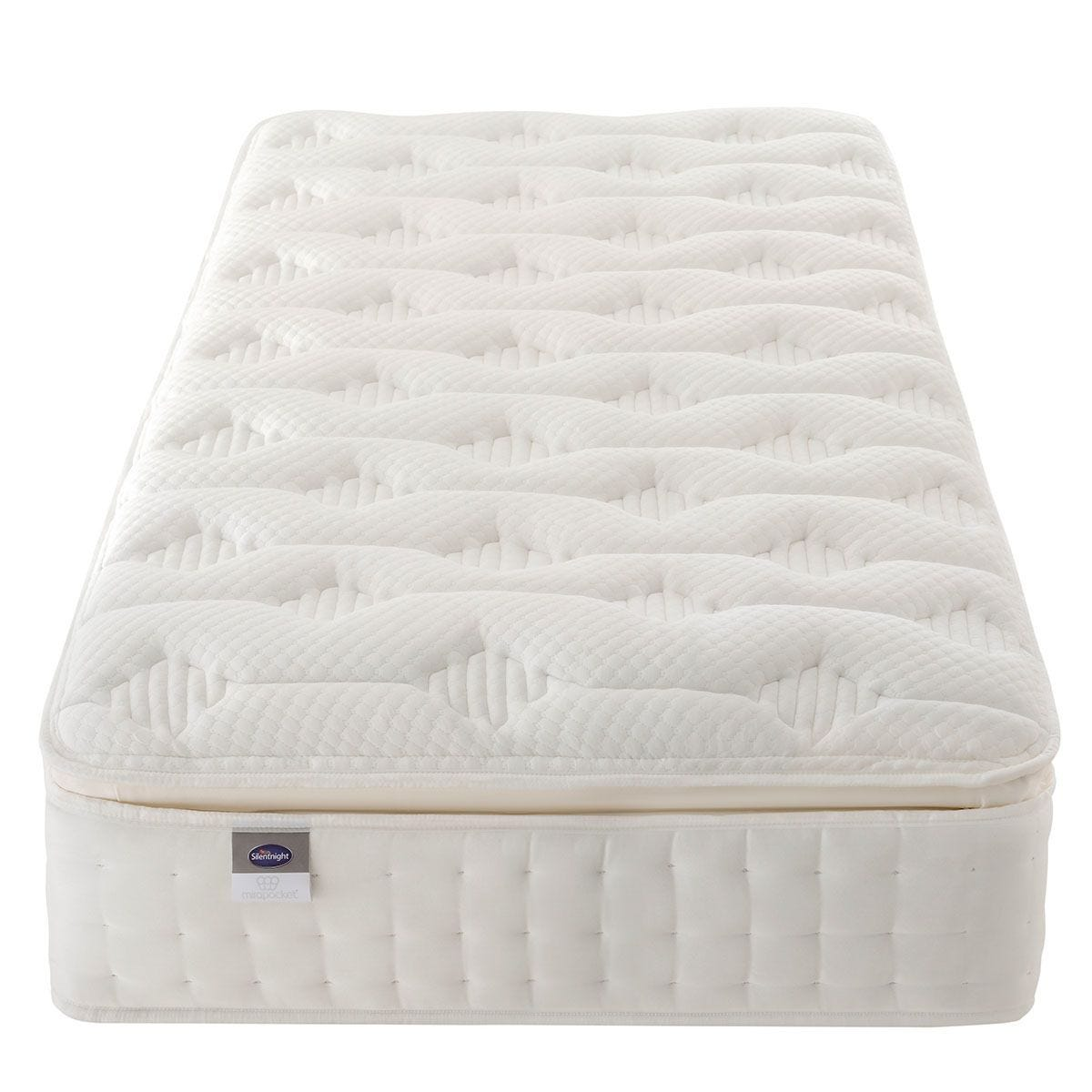 Silentnight Mirapocket Latex 1000 Mattress - White Single