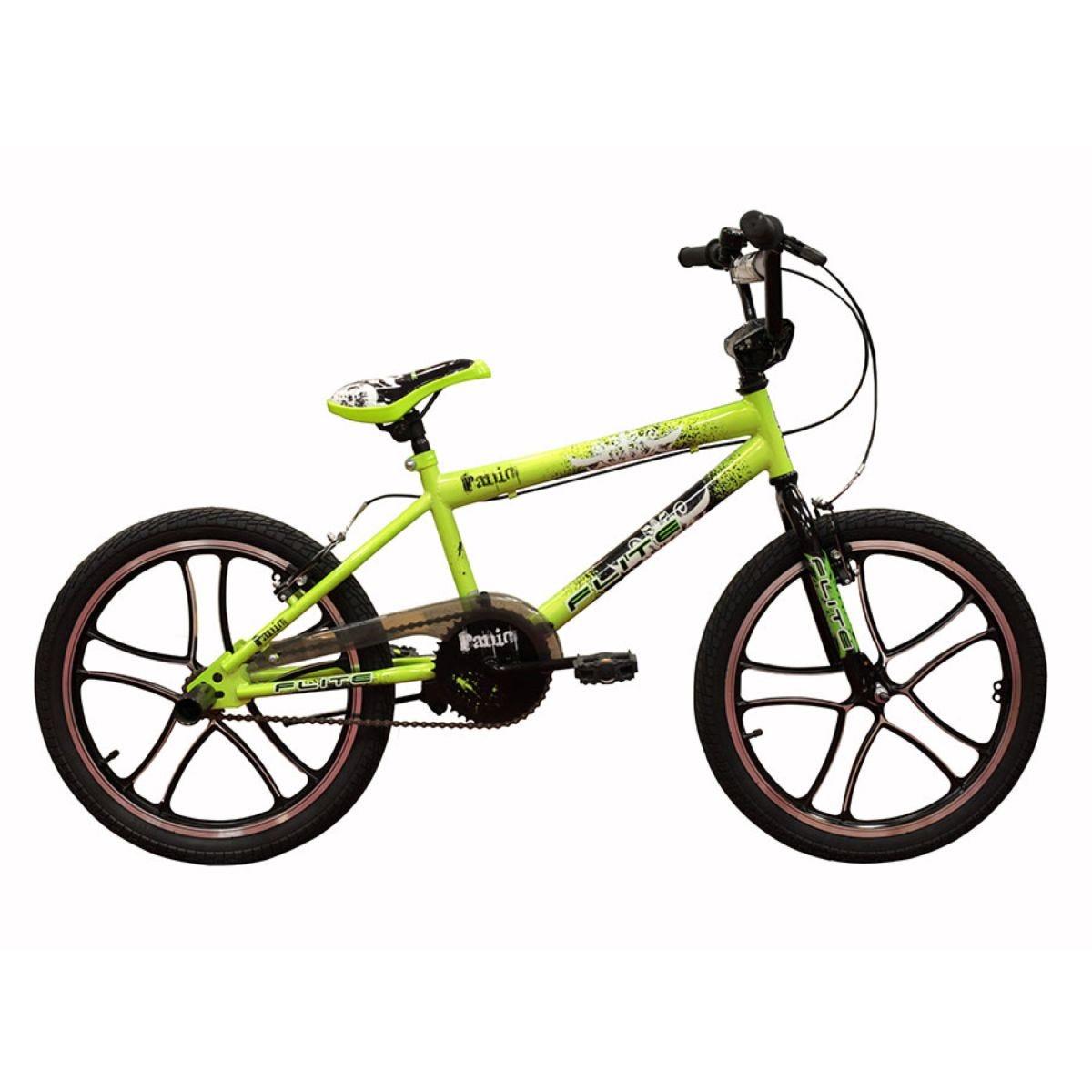 Flite 11-Inch Panic Mag Boys BMX Bike - Green