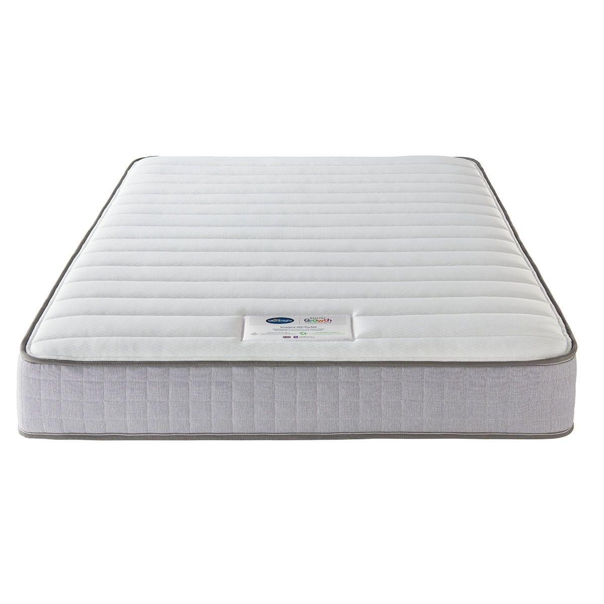 Silentnight Healthy Growth Imagine 600 Pocket Mattress - White