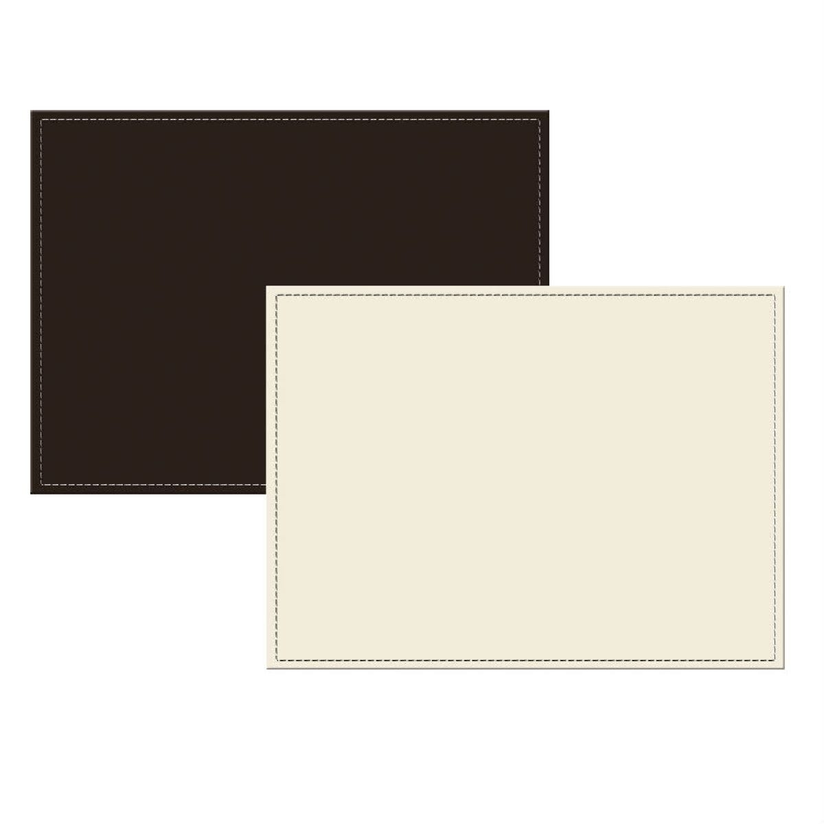 Creative Tops Leather Tablemats - 4 Pack