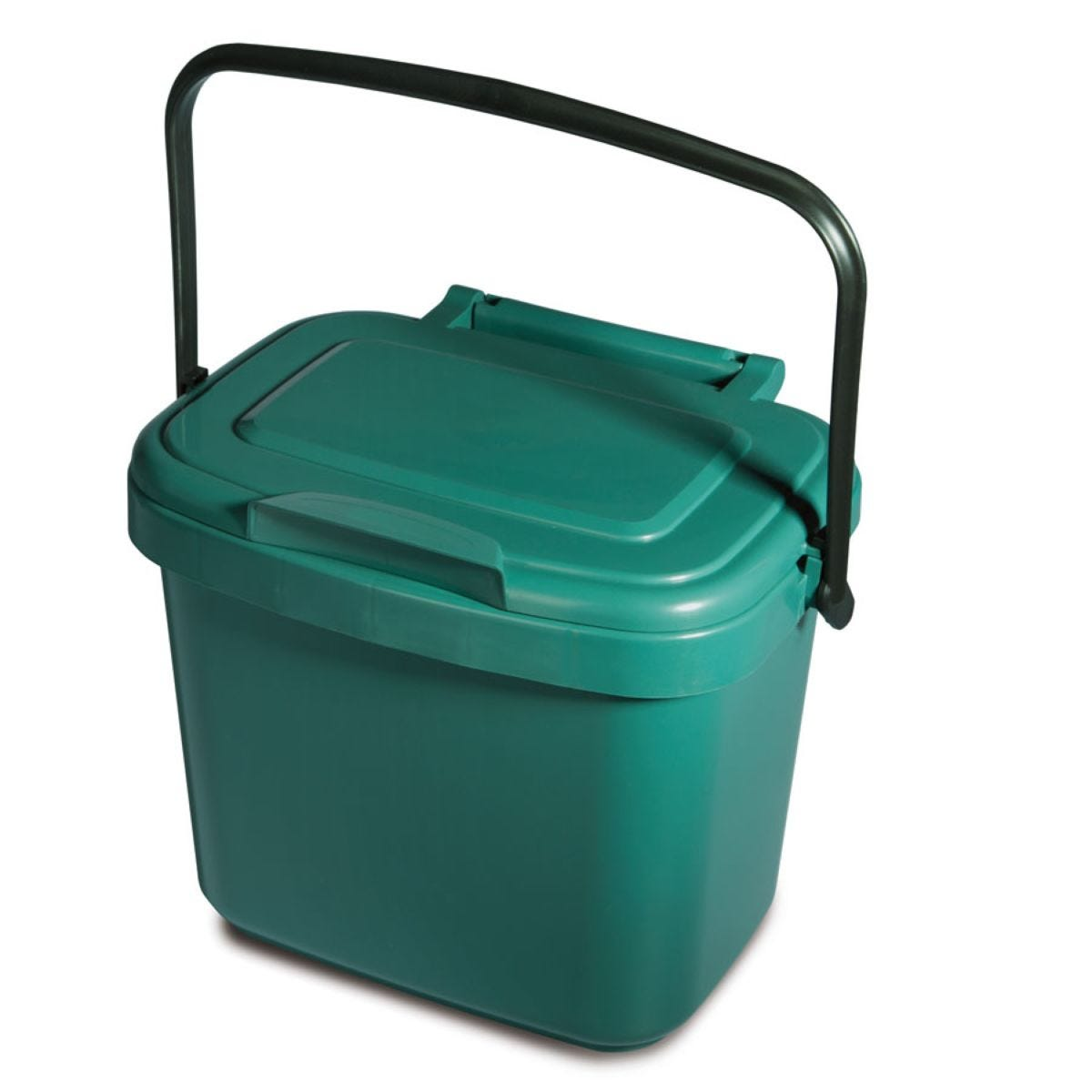 Addis 3L Kitchen Compost Caddy - Green