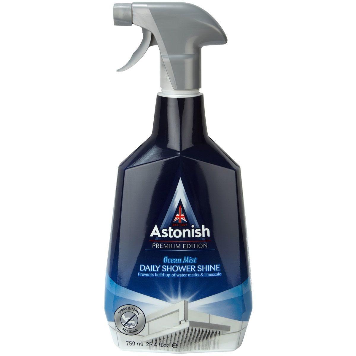 Astonish Premium Edition Daily Shower Shine Cleaner - 750ml