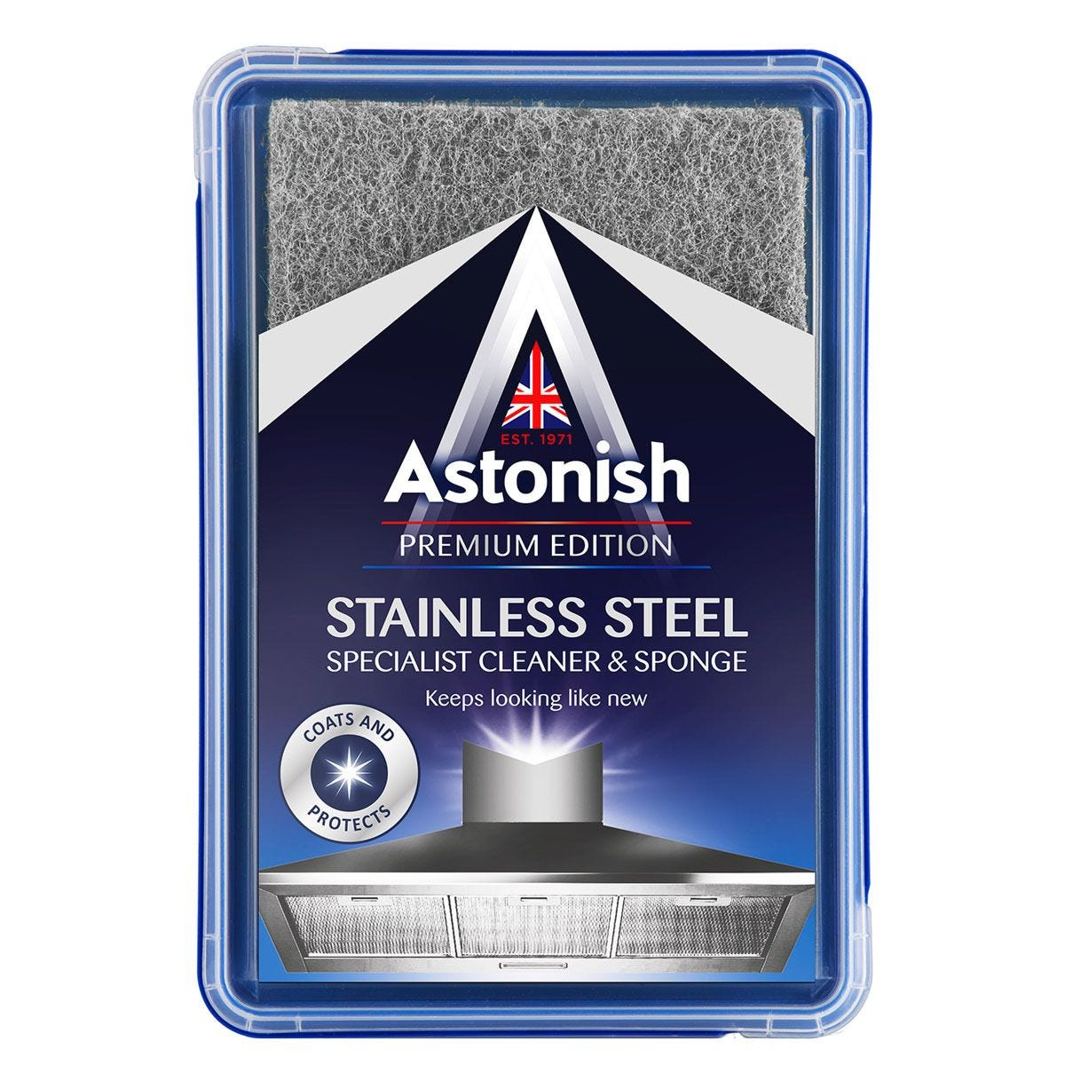 Astonish Specialist Stainless Steel Cleaner and Sponge