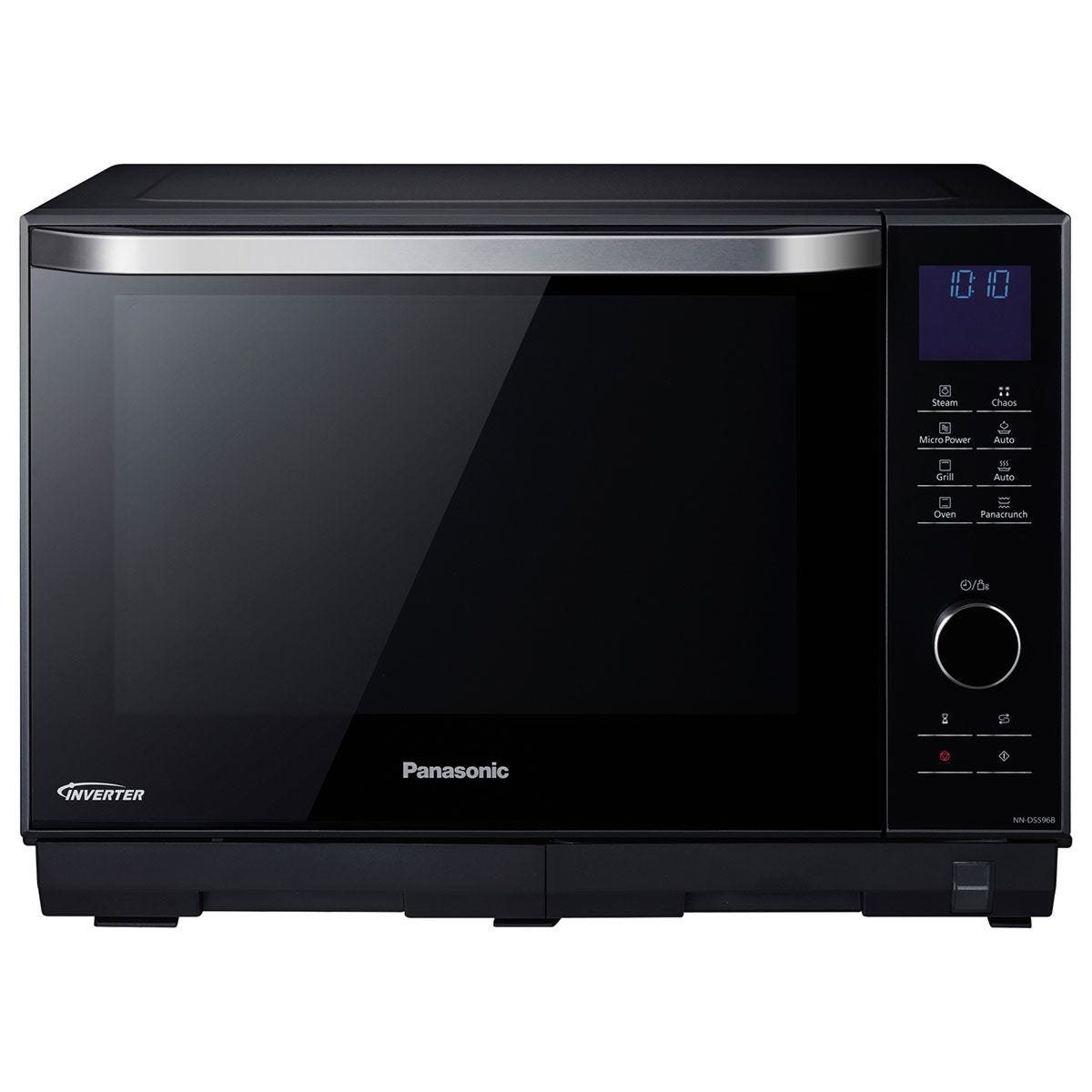 Panasonic NN–DS596BBPQ 4–in–1 Combi Inverter 27L Microwave with Grill – Black