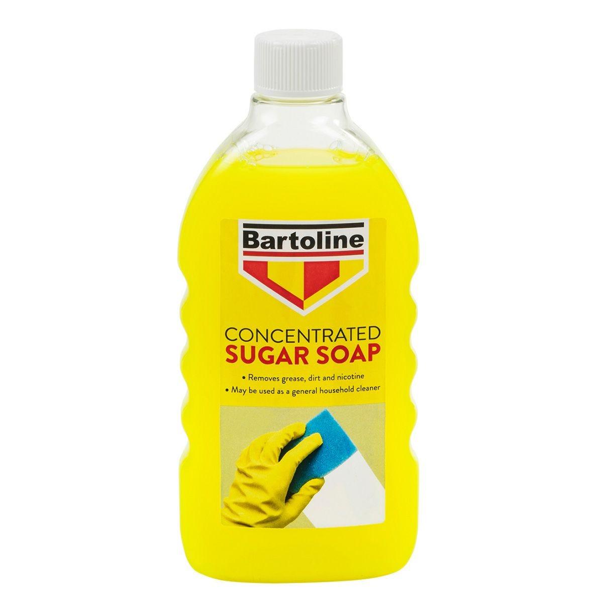 Bartoline Concentrated Sugar Soap Liquid - 500ml