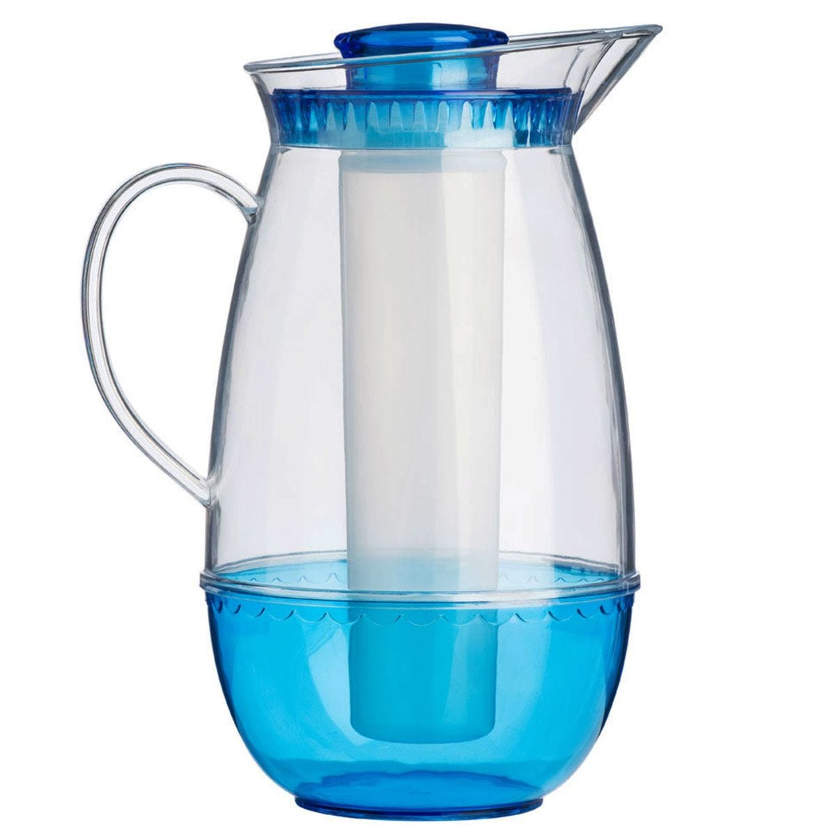 Premier Housewares 2.5L Jug with Ice Chamber - Blue