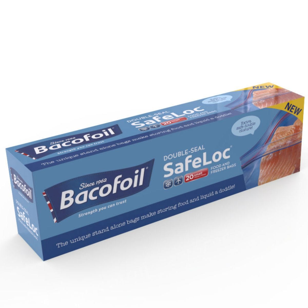 Bacofoil Small SafeLoc Storage Bags – 20 Pack