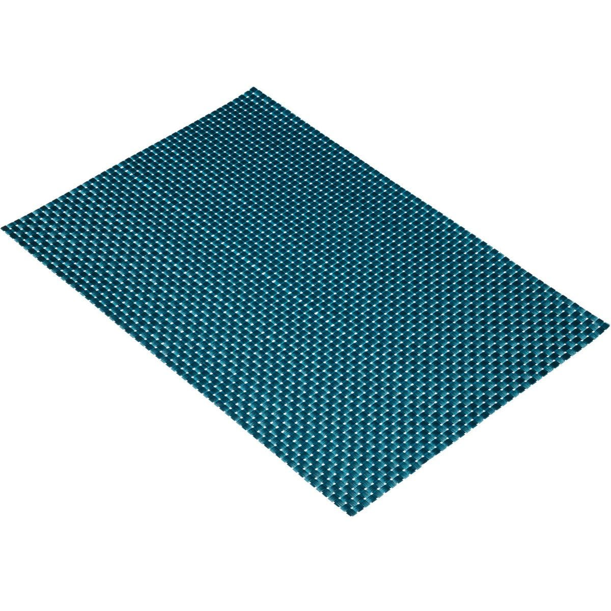 KitchenCraft Woven Weave Placemat - Turquoise