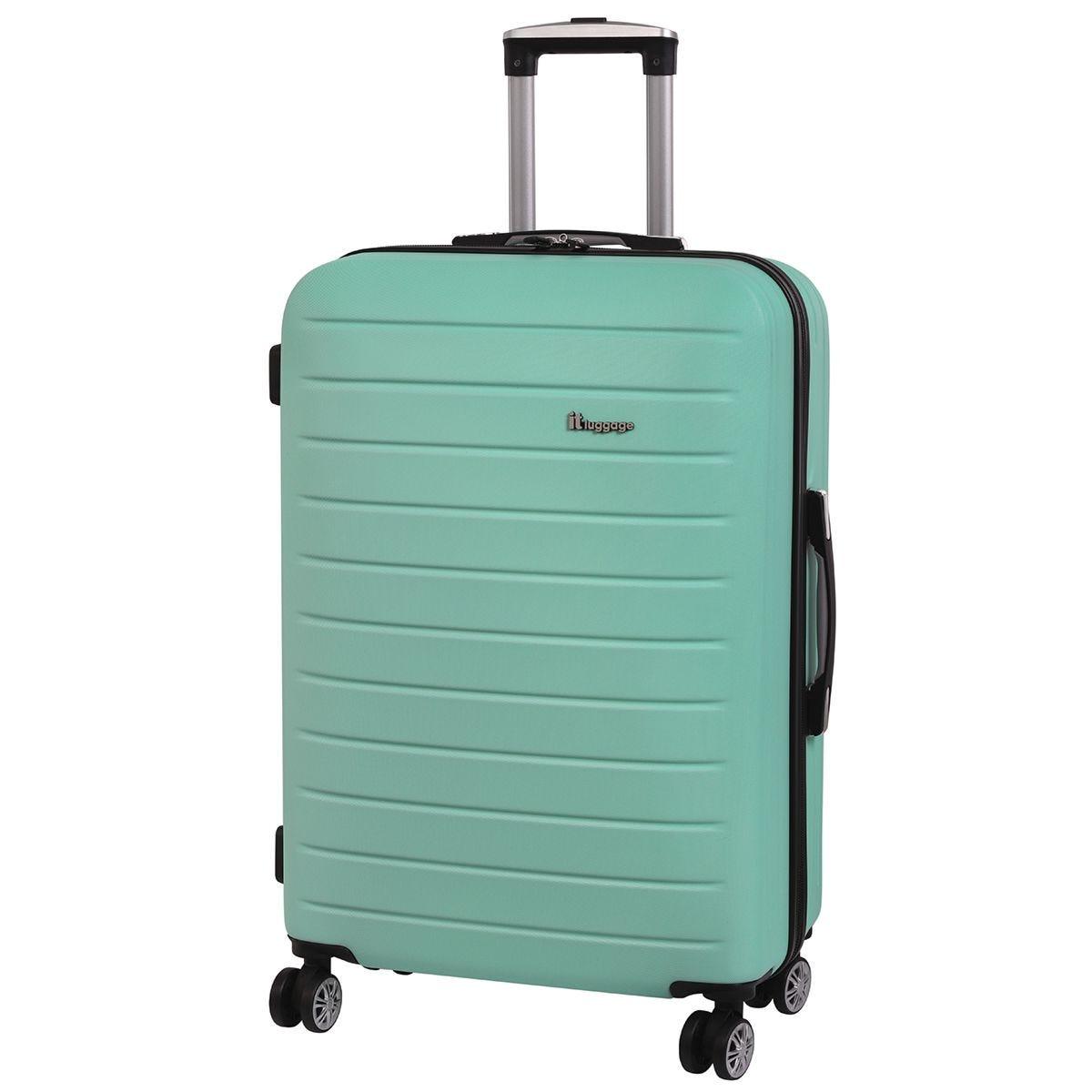 It Luggage Legion 8-Wheel Single Expander Hard Shell Medium Case - Beach Glass