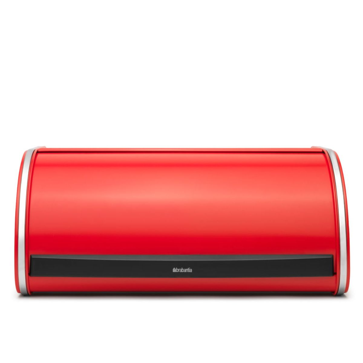 Brabantia Large Roll Flat Top Bread Bin - Passion Red