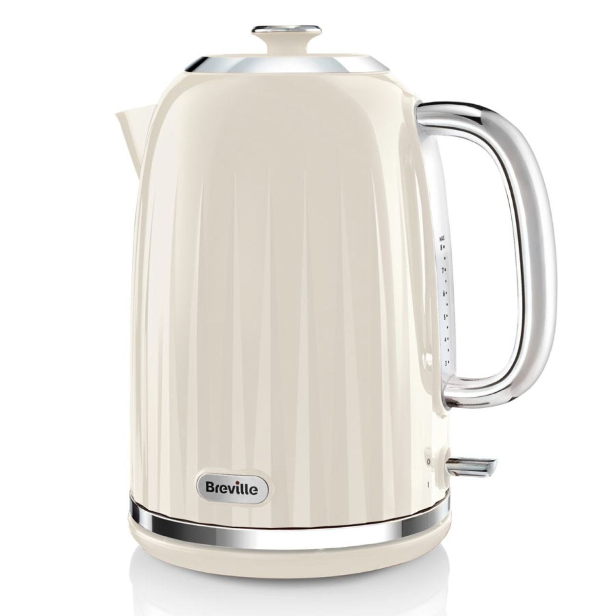 Breville VKJ956 Impressions 1.7L Cordless Fast Boil 3000W Jug Kettle - Cream