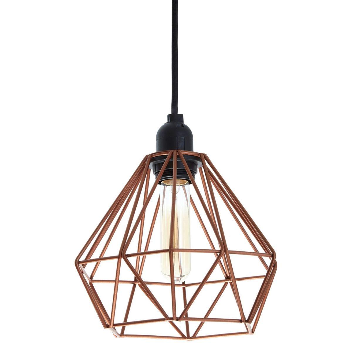 Bartol Pendant Light Metal Wire Copper