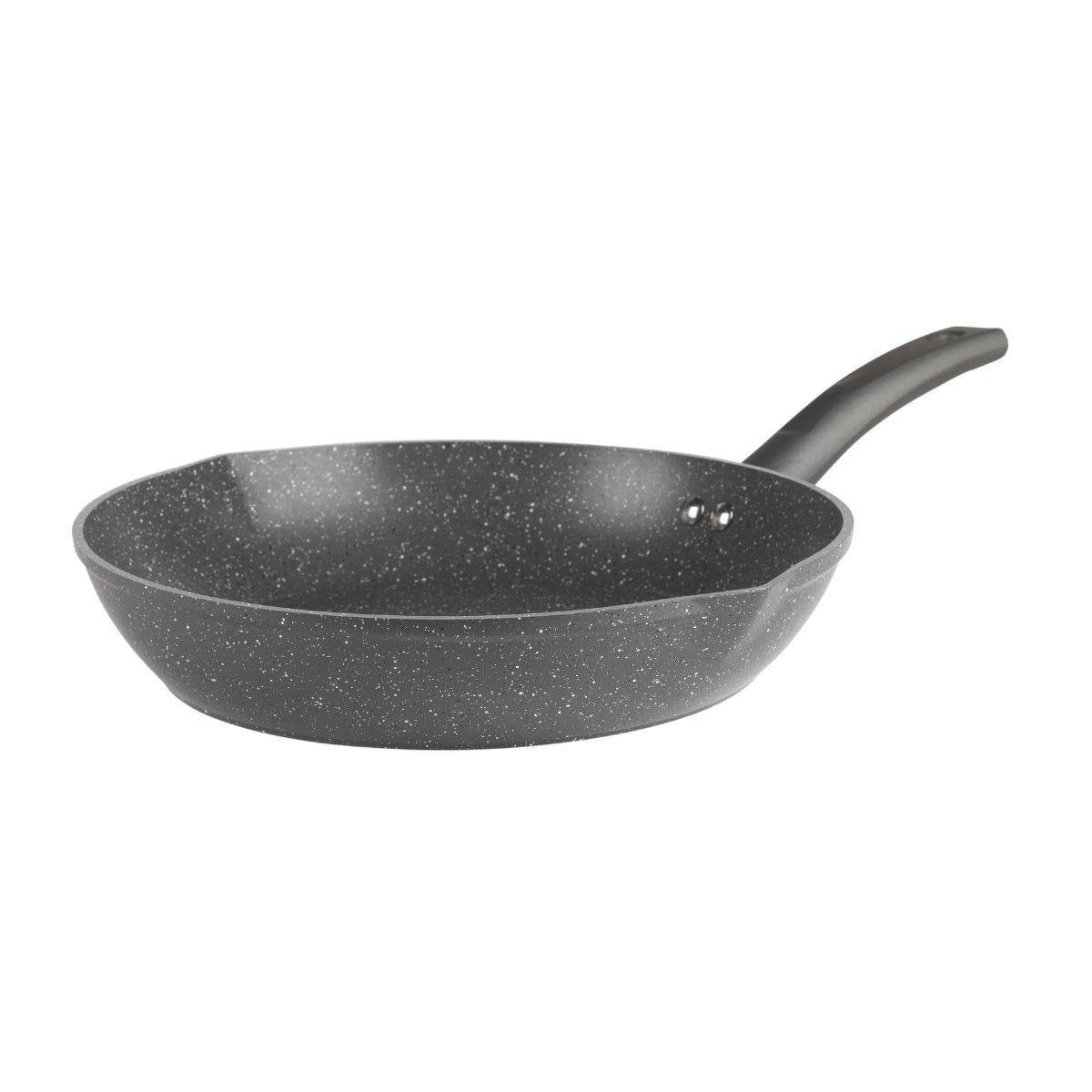 Salter Easy Pour Grey Frying Pan - 28cm