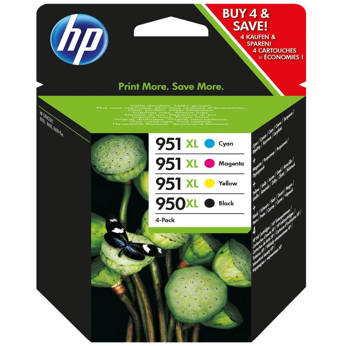 HP Hewlett-Packard 950/951XL C2P43AE Ink Cartridges - Combo Pack