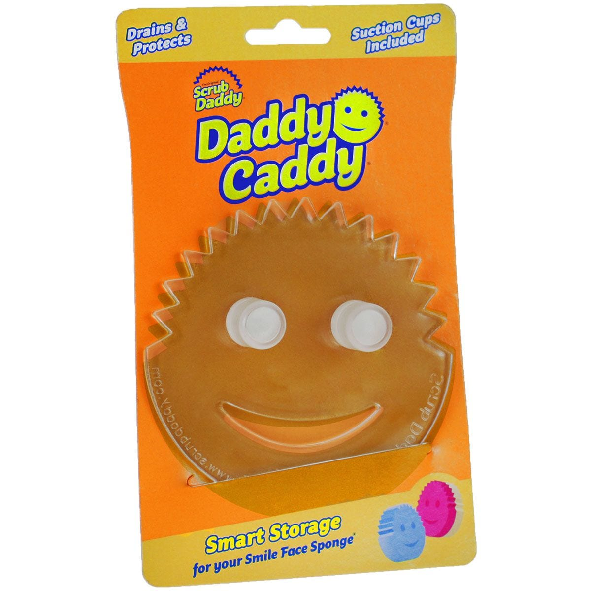 Scrub Daddy Caddy - Clear