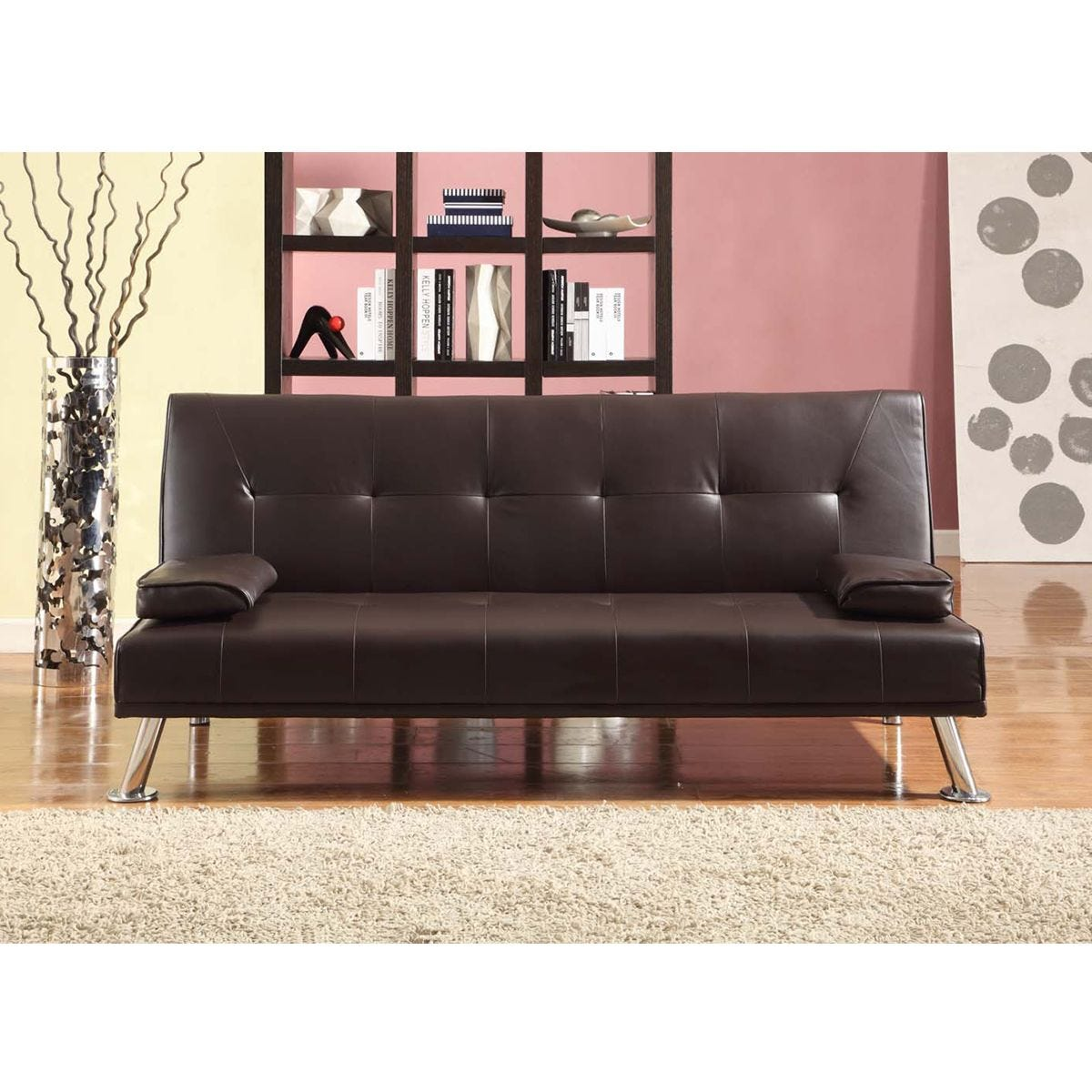 Cairns Sofa Bed - Brown