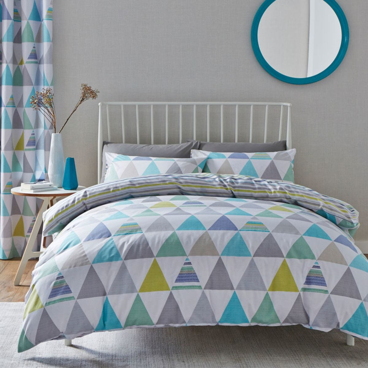 Catherine Lansfield Scandi Geo Duvet Set - Multi