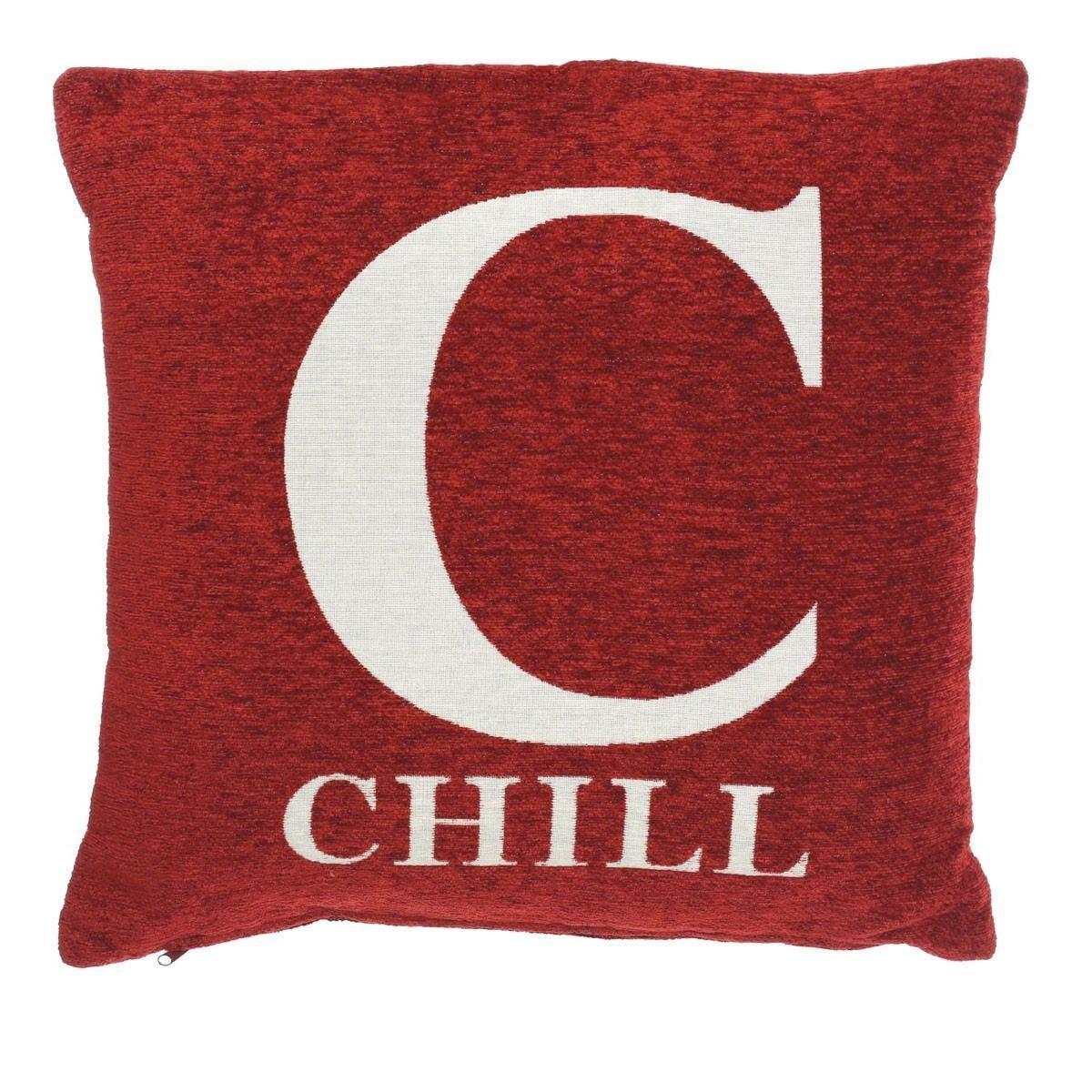 Premier Housewares 'Chill' Cushion - Red