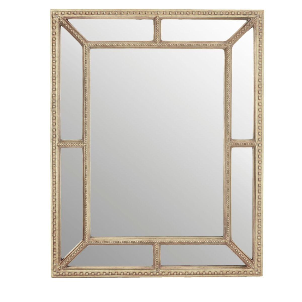 Premier Housewares Wall Mirror - Cream