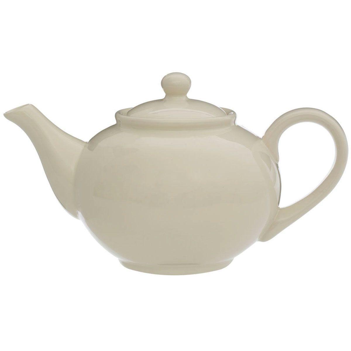 Premier Housewares 1.3L Teapot - Cream