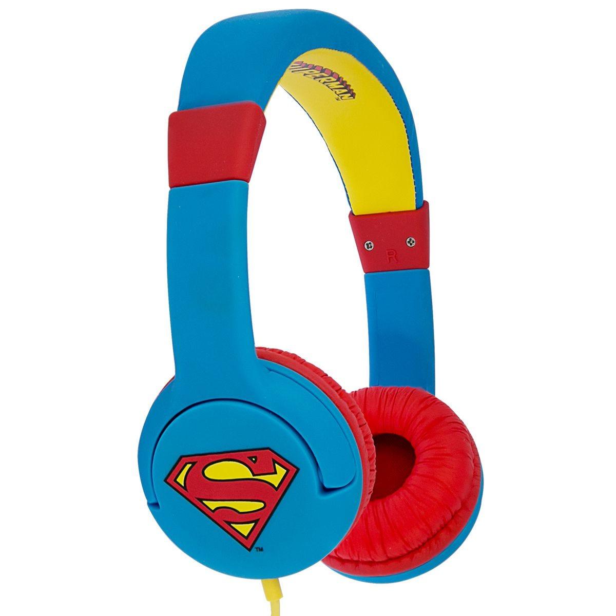 OTL Superman Man of Steel Kids Headphones