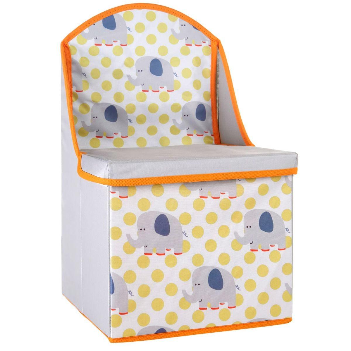 Storage Box / Seat Elephant Design Kids