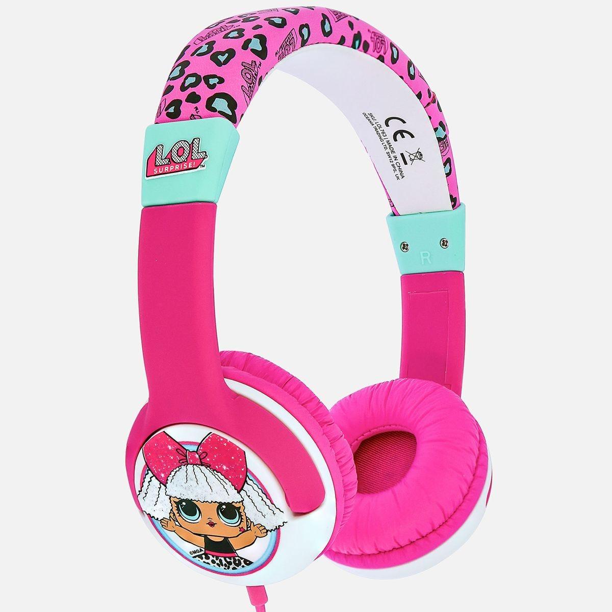 OTL L.O.L. Surprise! My Diva Pink Kids Headphones
