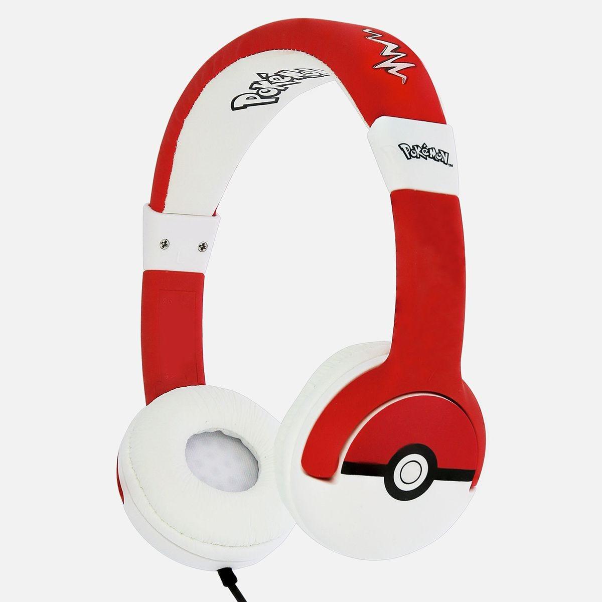 OTL Pokemon Pokeball Kids Headphones