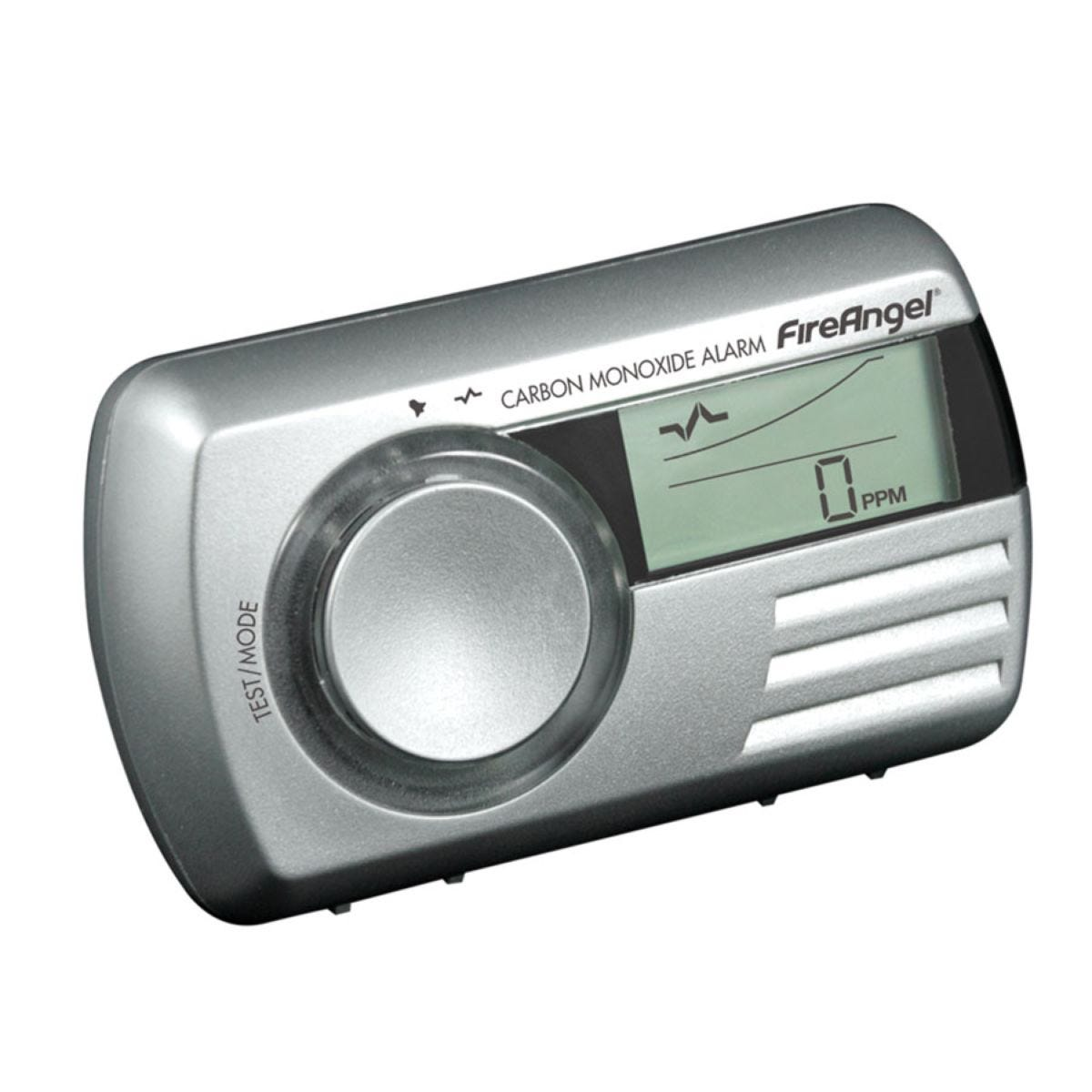 FireAngel Digital Carbon Monoxide Alarm - Silver