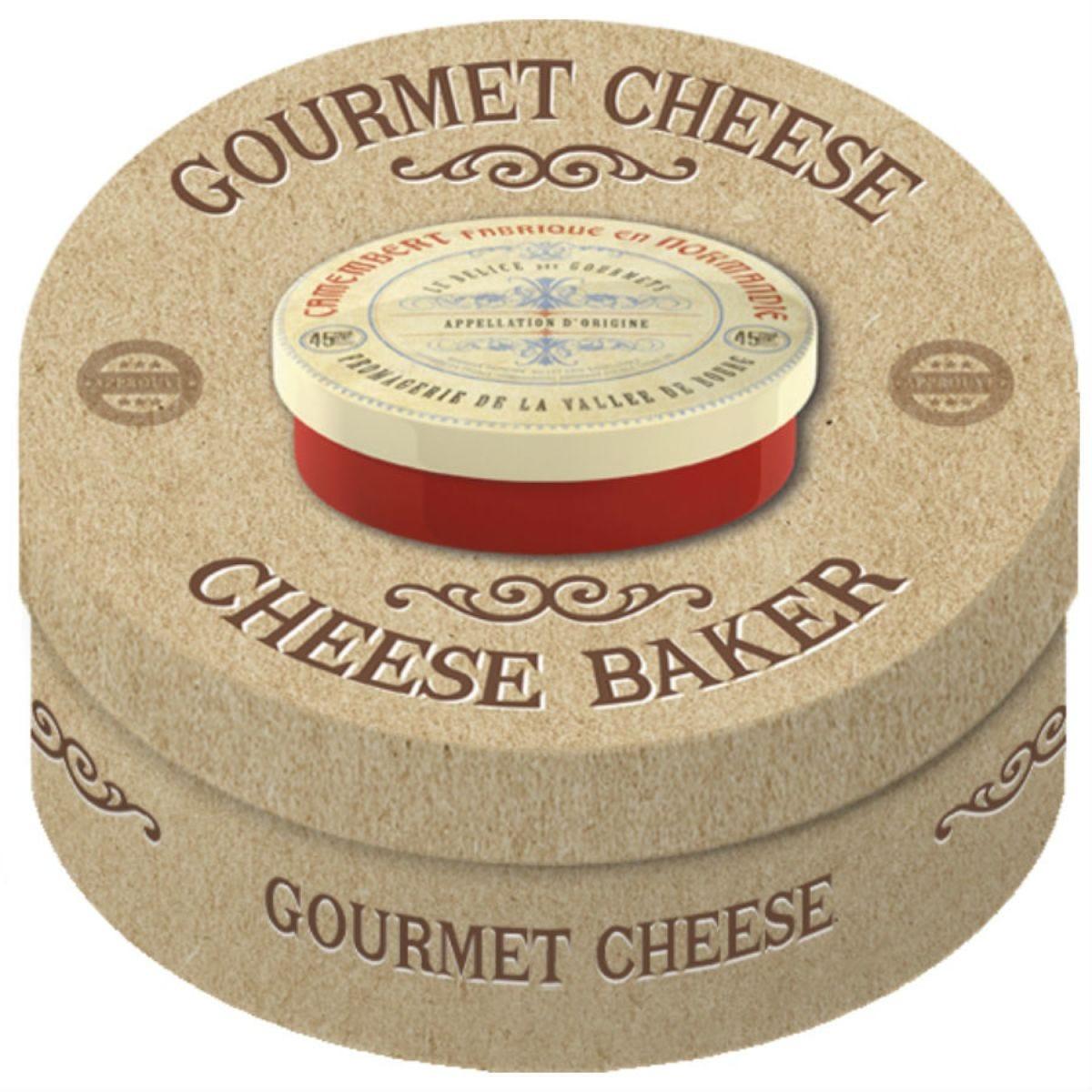 Gourmet Camembert Cheese Baker – Red