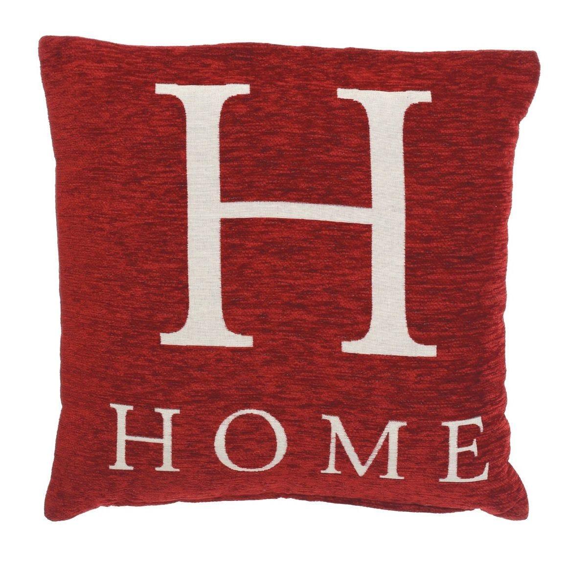 Premier Housewares 'Home' Cushion - Red