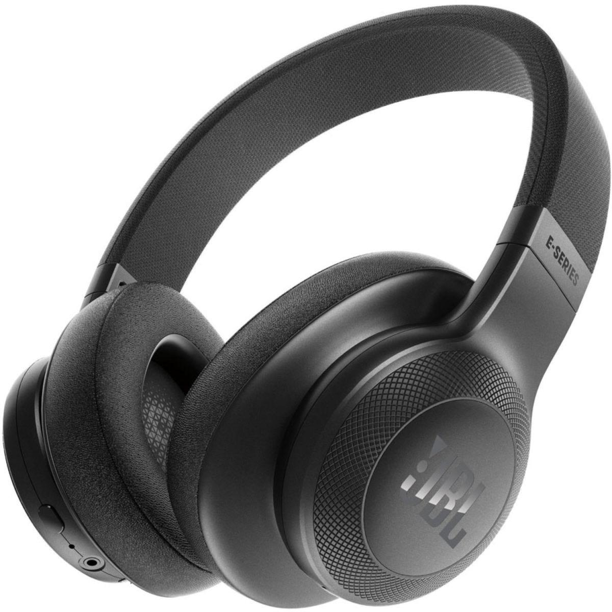 JBL E55BT Bluetooth Headphones - Black