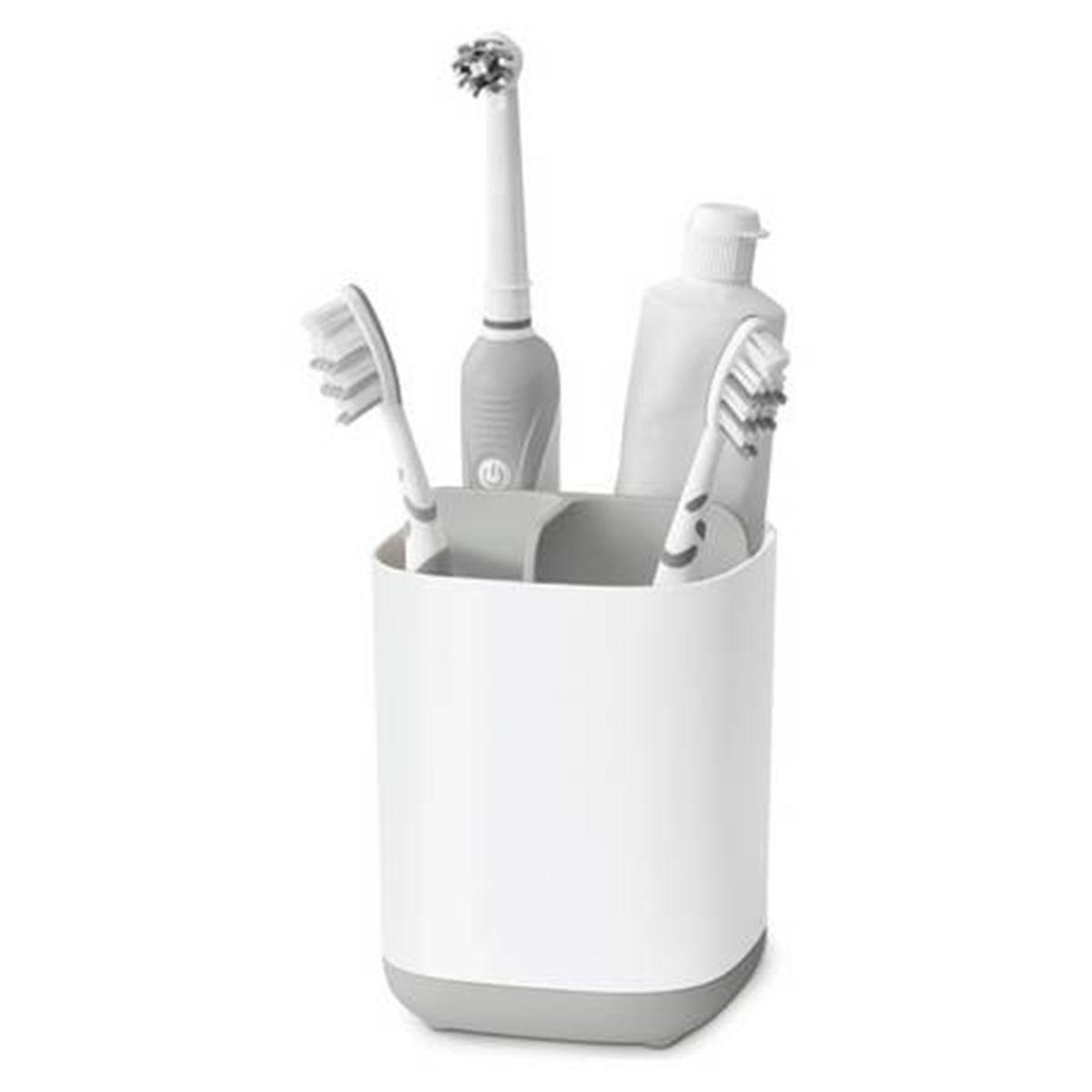 Joseph Joseph EasyStore Toothbrush Caddy Small - Grey/White
