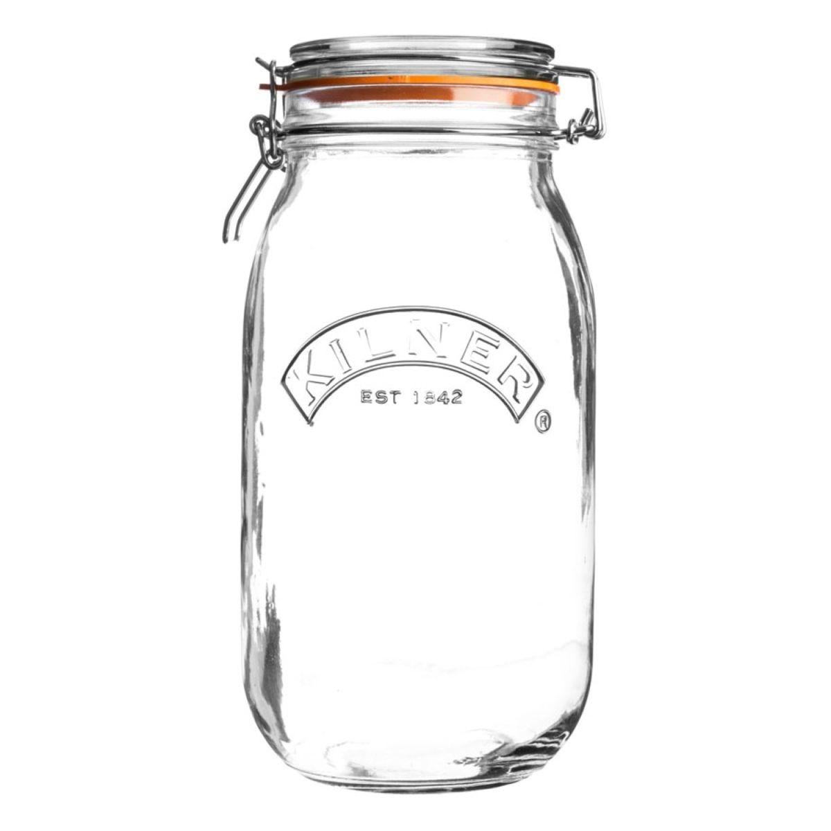 Kilner Round Clip Top Jar - 2L