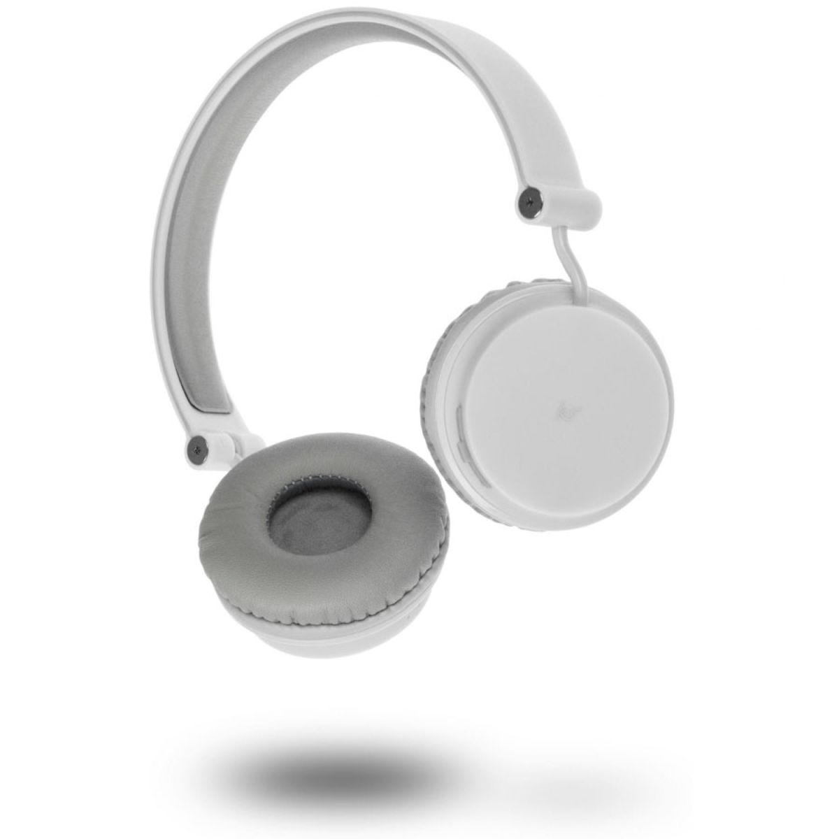 Kitsound Metro Wireless Bluetooth Headphones – White