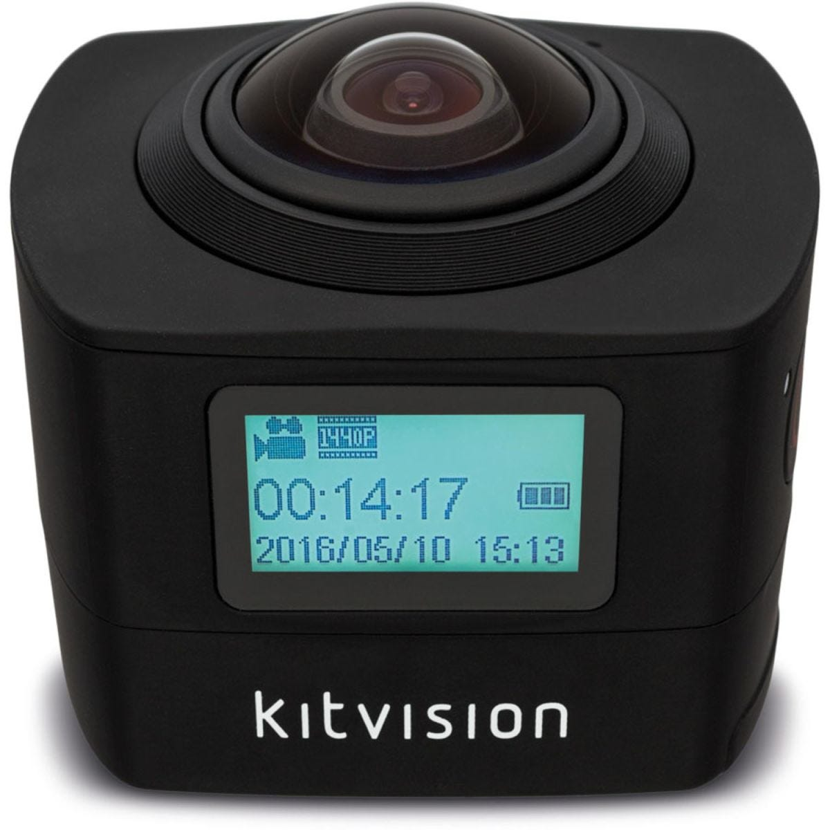 Kitvision Immerse 360 Degree Action Camera - Black