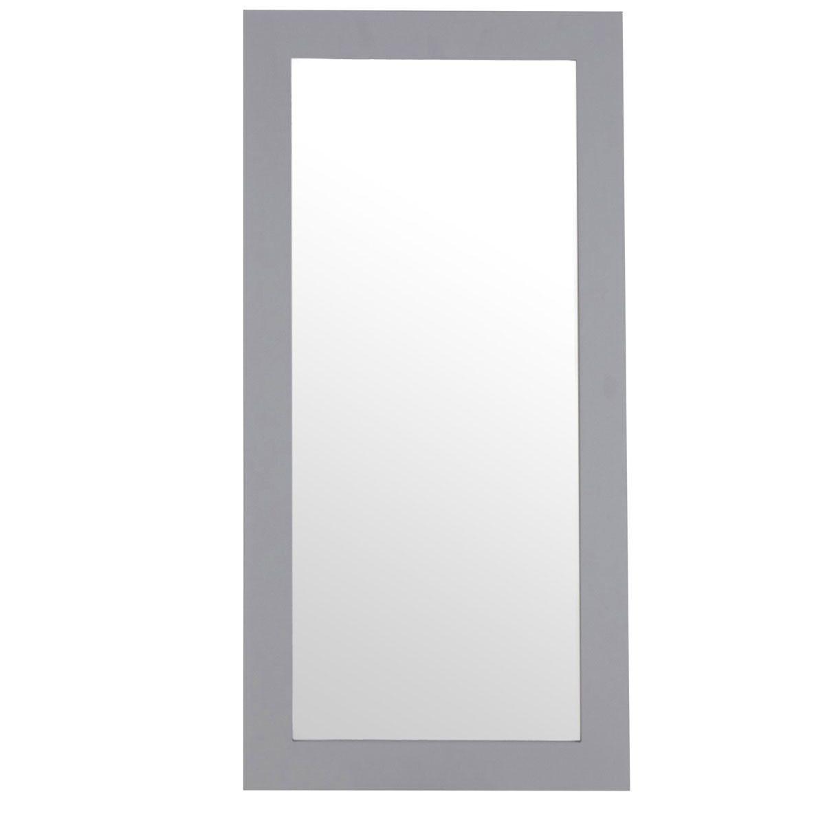 Premier Housewares Milo Wall Mirror - Grey